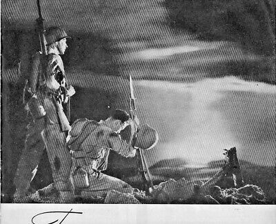1945 Westinghouse Radio Television Vintage Print Ad WWII Soldiers Easter