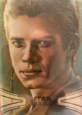 Star Wars Anakin Skywalker Sketch Card Huy Truong 1/1