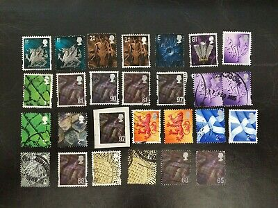 Postage Stamps of Great Britain Regional Issues