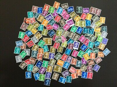 Postage Stamps of Great Britain Syncopated Machin Series
