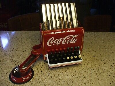 1940's50's Coca-Cola theme Change Dispenser arcade vending machine cash register