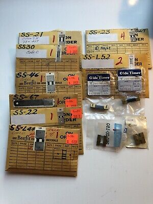 Lot of New Clock Suspension Springs - High Quality Vintage Parts