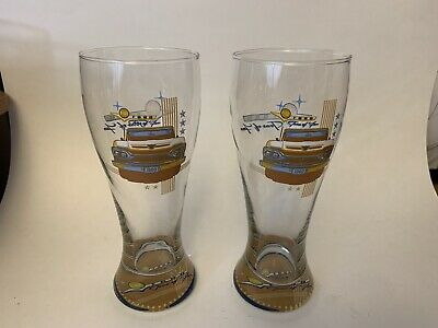 Ford F-100 Tons of Fun Beer Glass x 2