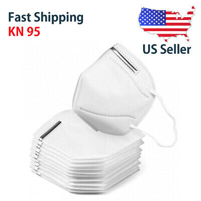 5 PACK KN95 Disposable Protective Face Mask Respirator CE Certified USA Seller