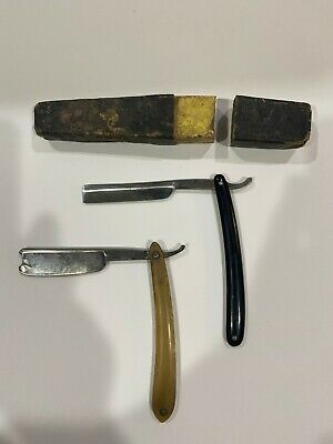 Antique Razors and Case Greaves and Sons