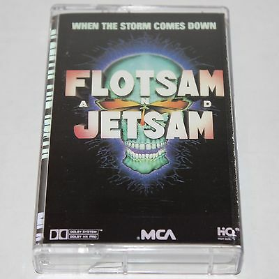 Flotsam and Jetsam Cassette Tape When The Storm Comes Down Heavy Metal Thrash