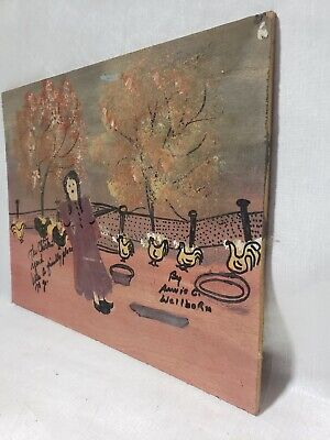 Annie Wellborn Folk/Outsider art southern painting