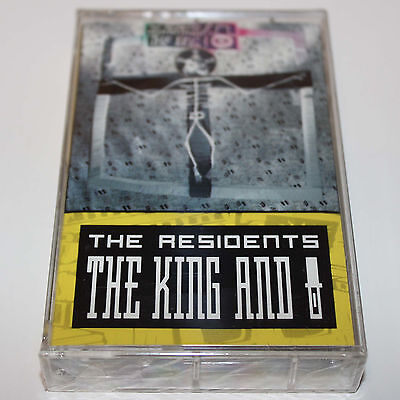 The Residents King And Eye Cassette Tape SEALED Promo 1989 Experimental Rock