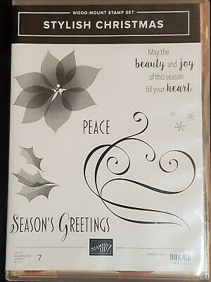STAMPIN' UP! STYLISH CHRISTMAS - Partially Used  -  Papercrafting Stamping