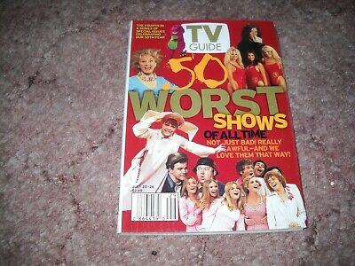 Various 2002 TV Guide Magazines
