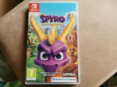 Spyro Reignited Trilogy - (Nintendo Switch, 2019)