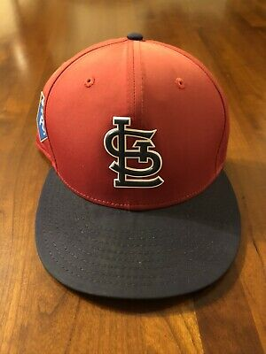 Bill Mueller St. Louis Cardinals Game Used 2018 Spring Training Cap