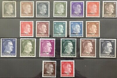 Germany 1941-1942 Occupied Ostland (Russia) MNH/MLH