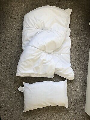 Zara Home Cot / Cotbed Duvet (100x120cm) And Pillow