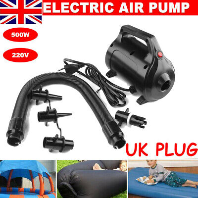 FBSPORT Electric Air Pump for Inflatable Air Track Home Gymnastics Tumbling Mat
