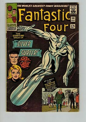 Fantastic Four (1961) #  50 (5.0-VGF) SILVER SURFER (827519)