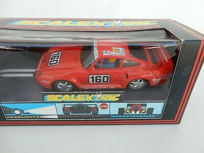 Scalextric C449 Porsche 959 Red - excellent condition, boxed