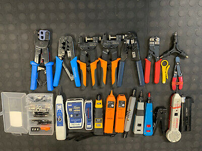 Network / Cable Tools Lot Assorted Misc.
