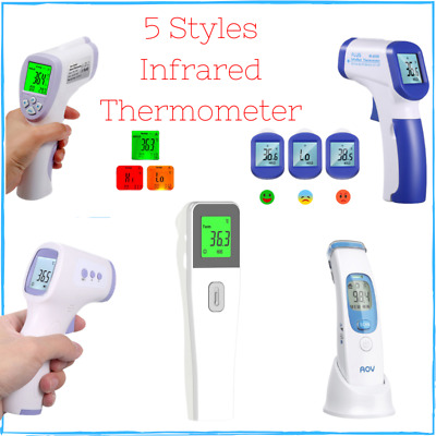 Infrared Thermometer Non Contact IR Forehead Baby Adult Digital Temperature 2020