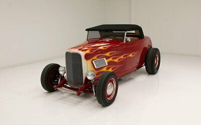 1932 Ford Roadster  peedway Motors Body/TCI Chassis/Ultra-Leather Interior/350ci Crate Engine