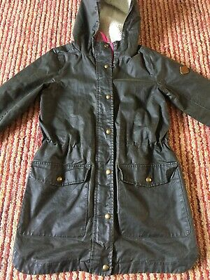Girls Coat By Joules Age 11-12 Hardly Worn