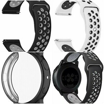 Samsung Galaxy Watch Active 2 44mm Protection Kit (2 Straps, 1case,1x ScreenPrt)