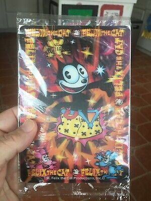 FELIX THE CAT LENTICULAR Mini Poster 1996 Wendy's- Mint in Package- never opened
