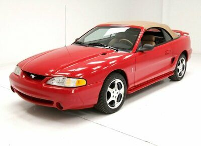 1994 Ford Mustang Cobra Indy Pace Car Low Miles  Showroom Condition  5.0 V8 5 Speed Beautiful Stitched Tan Leather