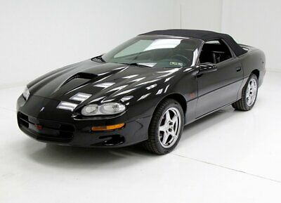 2000 Chevrolet Camaro SS Convertible 33,580 Actual Miles LS1 V8 SS/SLP Package Beautiful Ebony Over Gray Leather
