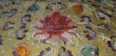 Chinese Textile Silk Embroidered 19thc