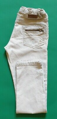 Bonpoint Girls Cream Coloured Jeans. Age 8. VGC