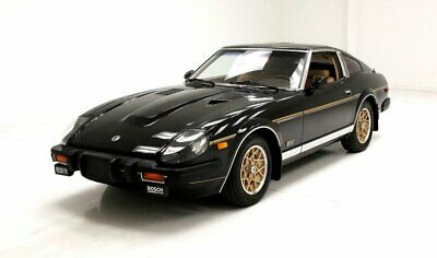 1981 Datsun 280ZX Turbo Thunder Black Respray Leather Interior Concert Hall Stereo 2.8 Turbo Inline 6