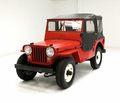 1947 Willys Jeep  4WD Truck Warn Hubs Newly Upholstered Interior