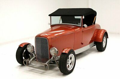 1930 Ford Roadster  Light Persimmon Exterior Brookville Body/Chassis 350ci V8/Turbo 350 Trans