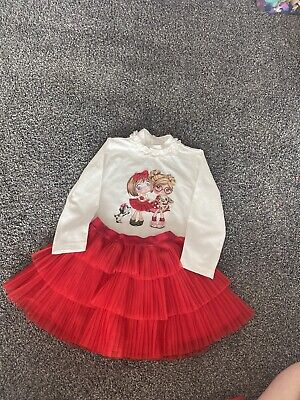 Girls Mayoral Top And Skirt Age 3 36 Months