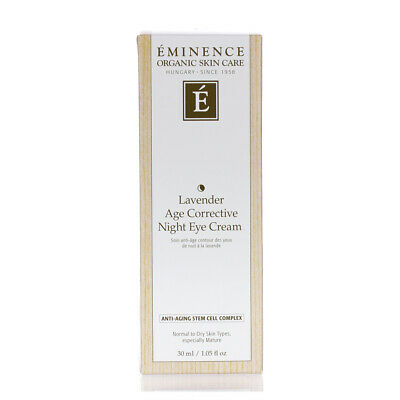 Eminence Lavender Age Corrective Night Eye Cream 30ml 1.05oz NEW&FRESH