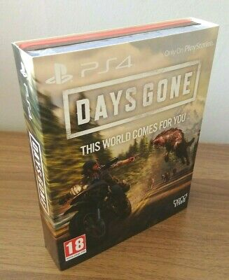 Days Gone + Limited Edition Steelbook PS4 NEW SEALED