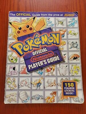 Nintendo Power - Pokemon Official Nintendo Player's Guide - Stickers Included!