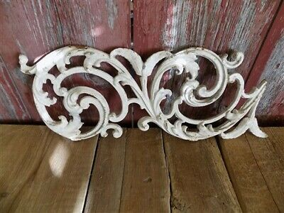 Decorative Panel, Cast Iron Garden Fence Panel, Architectural Salvage c,