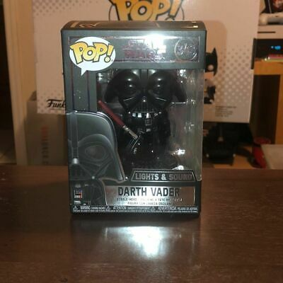Authentic Darth Vader (Electronic) Funko Pop #343 | Mint Condition. Star Wars