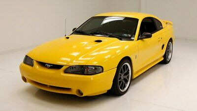 1996 Ford Mustang SVT Cobra Yellow, Yellow, Yellow Racing Inspired Interior SVT 4.6 Liter Supercharged V8