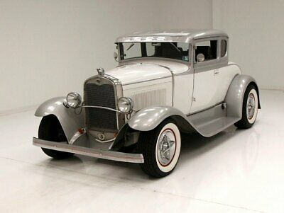 1930 Ford Model A Coupe Tasteful Two Tone Paint Nice Tweed Interior 355ci V8
