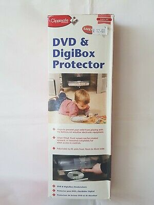 Clippasafe DVD & DIGIBOX PROTECTOR Baby Child Safety. New.