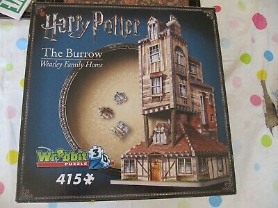 Wrebbit Puzzle Harry Potter The Burrow Weasley Family Home