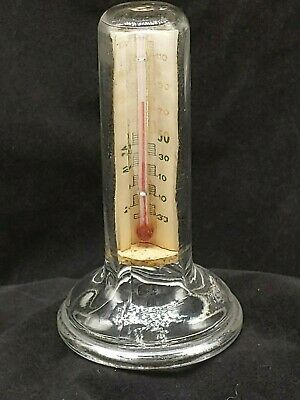 Icebox Refrigerator Thermometer Advertisement Flint Council Food Preservation