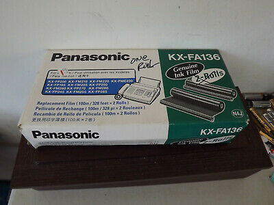 Panasonic Kx-Fa136 Single Roll