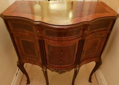 Antique style French bombe cabinet and drawers
