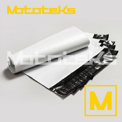 100pcs 10X13 12X15 White Poly Mailer Plastic Bag Shipping Package Envelopes