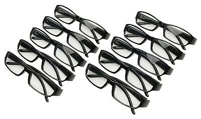 10 Pairs of 1.50 Reading Glasses Black,Plastic,mens,womens CHEAP +1.5 readers