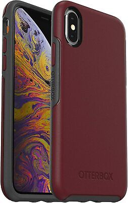 OtterBox Symmetry Series Slim Case for iPhone Xs & X - Fine Port Easy Open Box